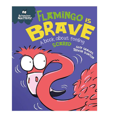 Behavior Matters: Flamingo Is Brave a Book about Feeling Scared image
