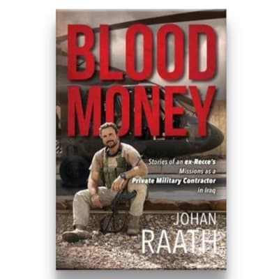 Blood Money:  Stories of an Ex-Recce's Missions in Iraq 344 Pages image