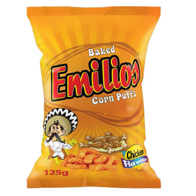 Emilios Corn Puffs - Chicken flavoured image