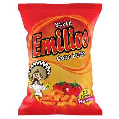Emilios Corn Puffs - Chili Tomato flavoured image