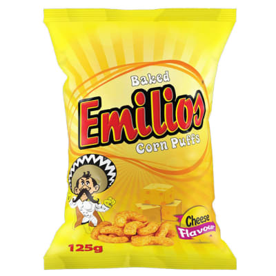 Emilios Corn Puffs - Cheese flavoured image