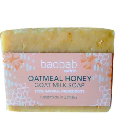 Oatmeal & Honey Goat Milk Soap image