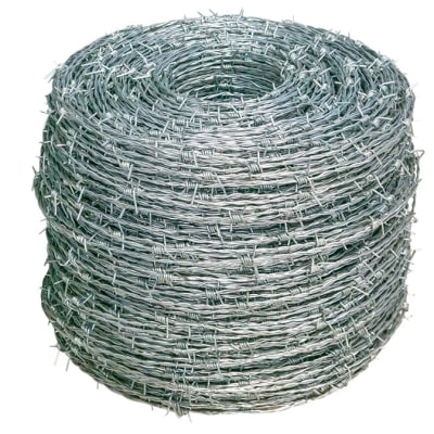 Fencing Barbed Wire 2.0mm Double Strand 1.6cm Barbs image
