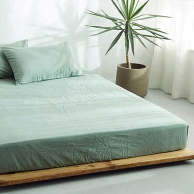 Bed cover sheets 1.5x1.8m  Simmon mattress cover Light grey - 29043311543 image