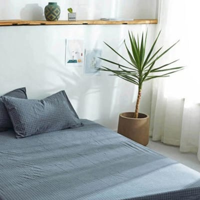 Bed cover sheets 1.5x1.8m  Simmon mattress cover Grey - 29043311543 image