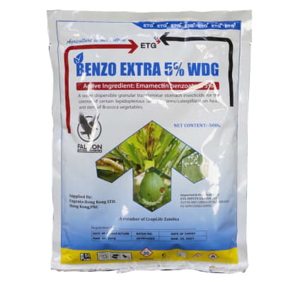 Insect Killer Benzo Extra  5% Wdg  - 100g image