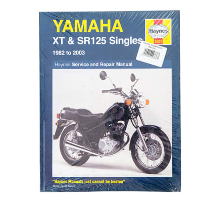 Book - Yamaha XT and SR125 Singles image