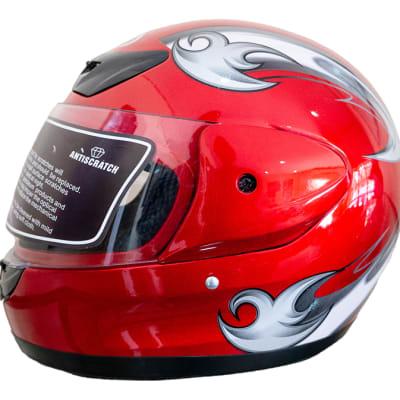 Motorcycle Helmet - Anda Red image