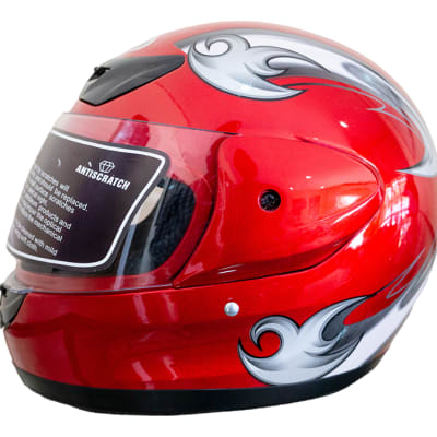 Motorcycle Helmet - Anda Red image