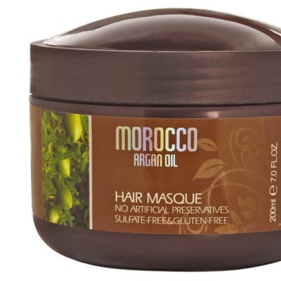 Morocco Argan Oil Hair Masque image