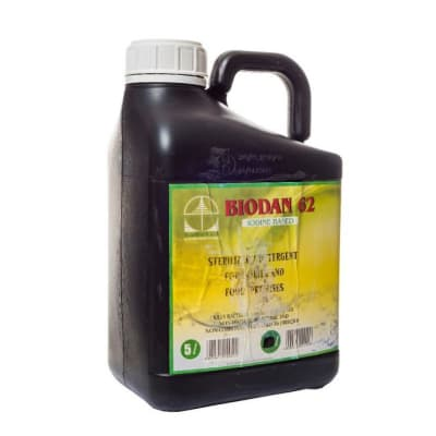 Biocide Detergent  Biodan 62 5 Litres image