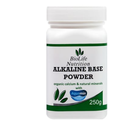 Alkaline Base Powder from Aquamin Soluble  Calcium  250g image