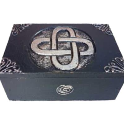 Storage Box Black Rectangular  Decorative Box image