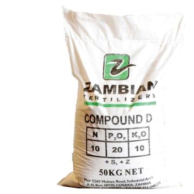 Basal Dressings D Compound  Fertilizer  - 5kg image