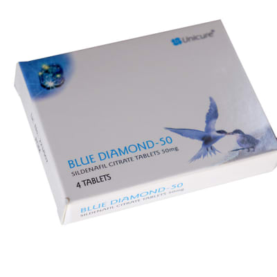 Blue diamond - Sildenafil Citrate tablets image