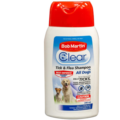 Bob Martin Clear Tick and Flea Shampoo image
