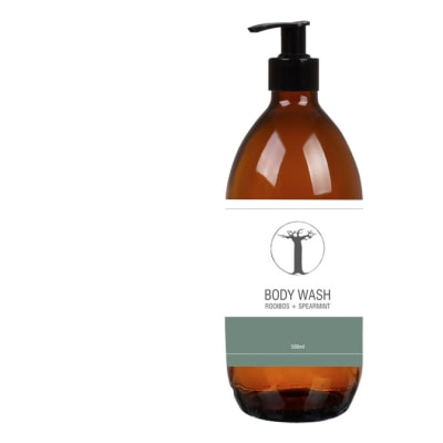 Personal Care Range - Body wash – Rooibos and Spearmint image