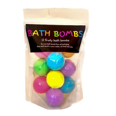 Bath Bombs  Bodycraft  Doy Pack Variety of 12  image