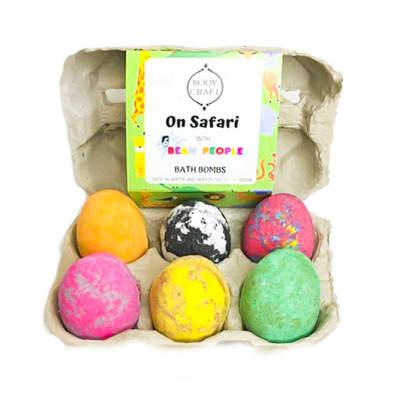 Bath Bombs Set  Bodycraft  on Safari Egg Box image