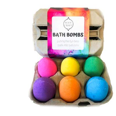Bath Bombs Set  Bodycraft  Bath Bombs image