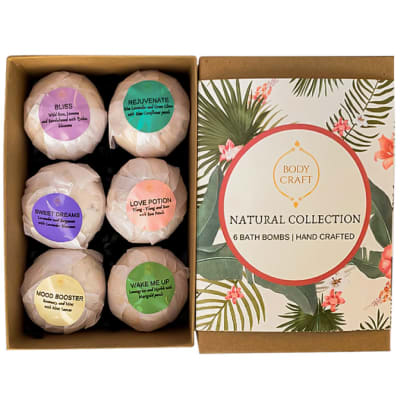 Bath Bombs Bodycraft Natural Collection image