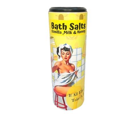 Bath Salts Bodycraft Vintage Vanilla, Milk & Honey  image
