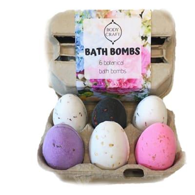 Bath Bomb Bodycraft  Botanical  Set of Six image