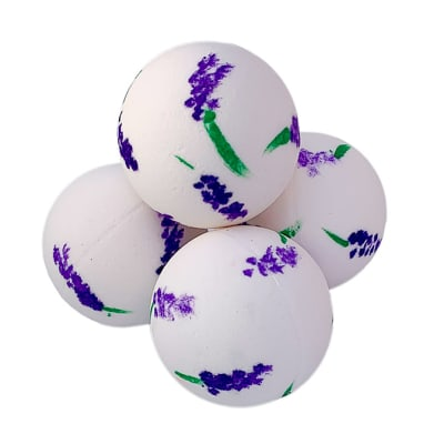 Bath Bombs Bodycraft  Hand Painted Lavender  image