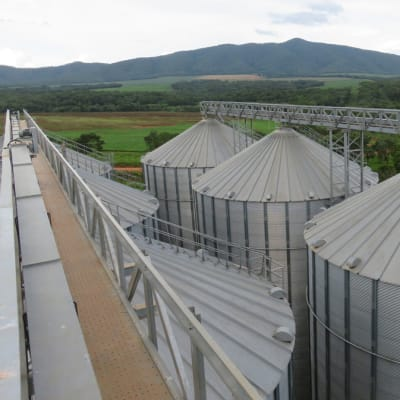 Risk Mitigation Inspection Services -  Collateral Management of stock in silo complex image