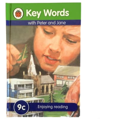 Key Words - With Peter And Jane – 9c Enjoying Reading image