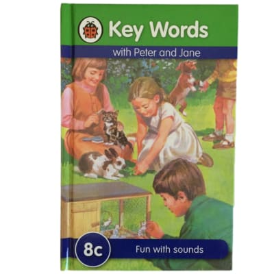 Key Words - With Peter And Jane – 8c Fun With Sounds image