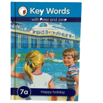 Key Words - With Peter And Jane – 7a Happy Holiday image