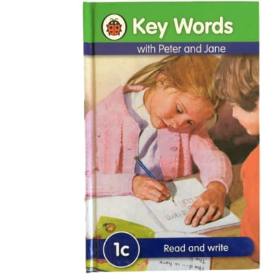 Key Words - With Peter And Jane – 1c Read And Write image