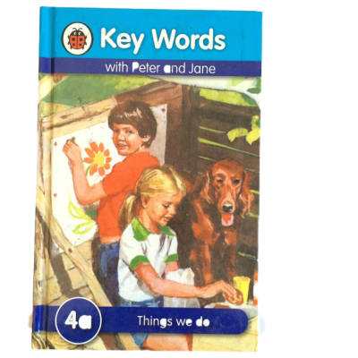 Key Words - With Peter And Jane – 4a Things We Do image