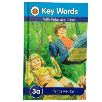 Key Words - With Peter And Jane – 3a Things We Like image