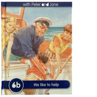Key Words - With Peter And Jane – 6b We Like To Help image
