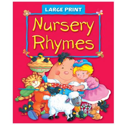 Large Print - Nursery Rhymes image