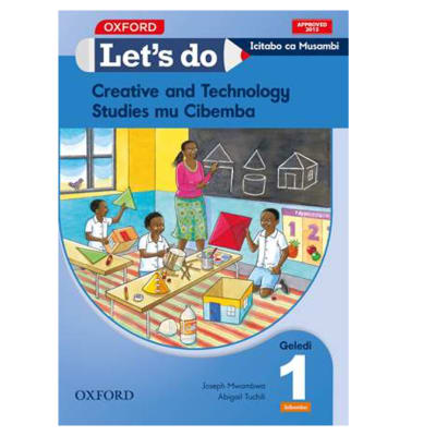 Let's do Creative and Technology Studies Grade 1 Pupil's Book – Icibemba image