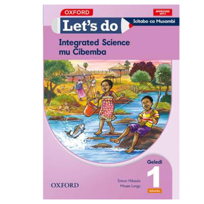 Let's do Integrated Science Grade 1 Pupils Book – Icibemba image