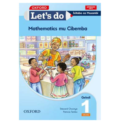 Let's do Mathematics Grade 1 Pupil's Book – Icibemba image