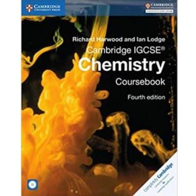 Cambridge IGCSE® Chemistry Coursebook with CD-ROM (Cambridge International IGCSE) 4th Edition image