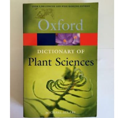 Dictionary Of Plant Sciences image