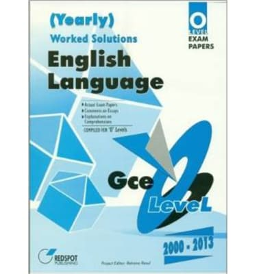 English Language worked solutions (Yearly) image