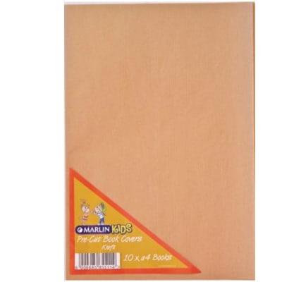 FS pre-cut book cover brown 10pkt image