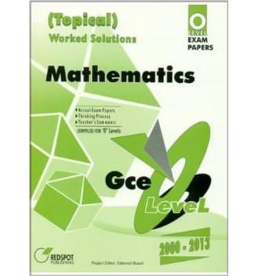 GCE O Level Mathematics (Topical) image