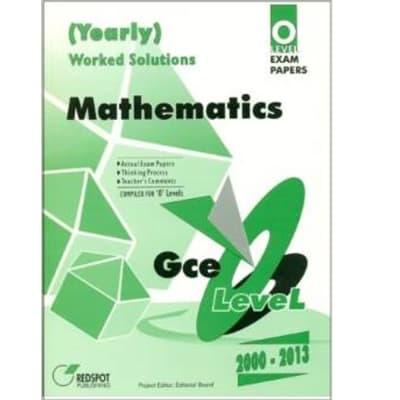 GCE O Level Mathematics (Yearly) image