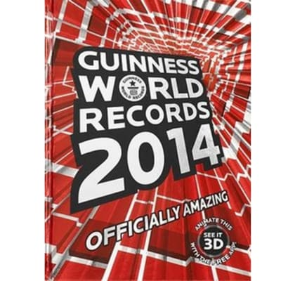 Guinness World Records 2014 image