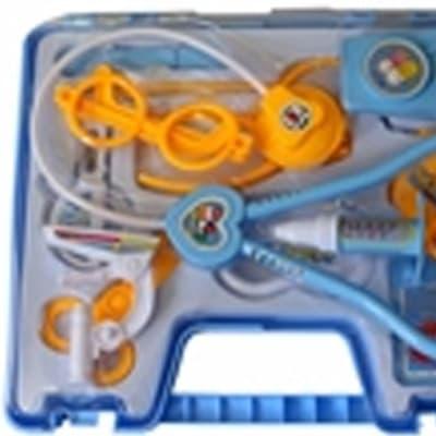 JY- Kids doctor medical kit(Blue and pink) image