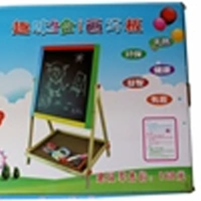 JY Children's white and green board set image