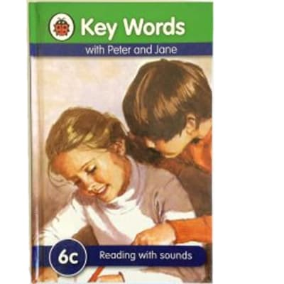 Key Words- With Peter And Jane – 6c Reading With Sounds image